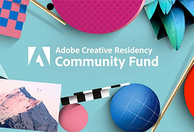 Screenshot Adobe Community Fund