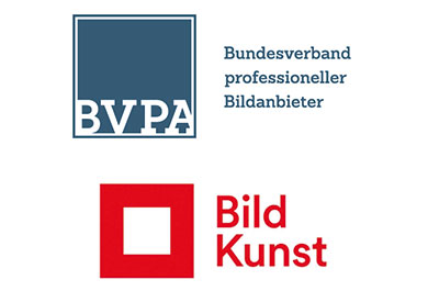 Logos BVPA und VG Bid-Kunst