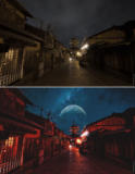 Vergleichsfotos Luminar AI