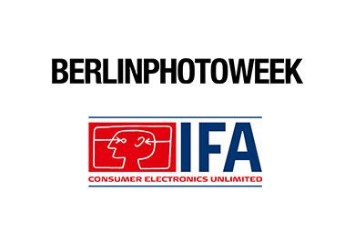 Berlin Photo Week und IFA Logo