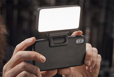 Bigsofti an einem Smartphone