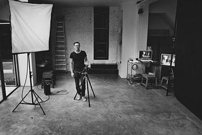 Bryan Adam im Fotostudio