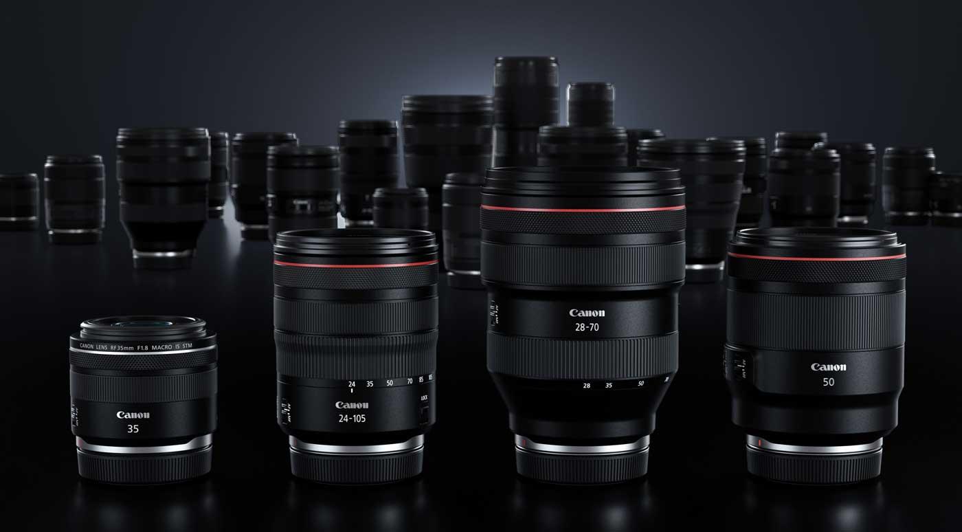 Foto Canon EOS R Objektive