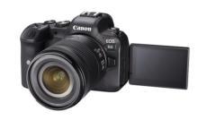 Canon EOS R6 mir ausageklapptem Display