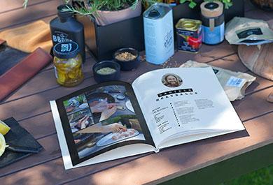 CEWE Fotobuch als Kochbuch