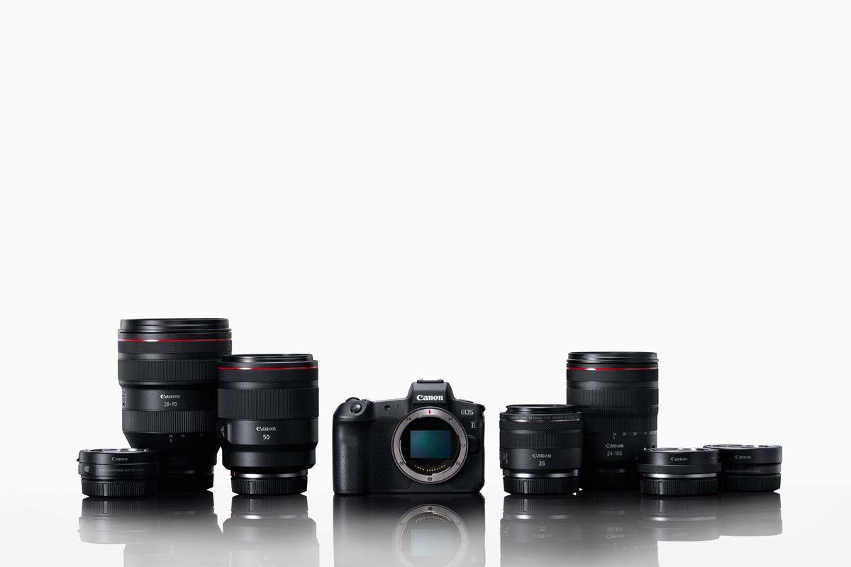 Foto Produktfamilie canon EOS R System