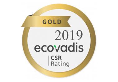 EcoVadis Gold-Status