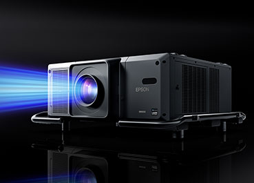 Spektakuläre Projektionsshow von Epson