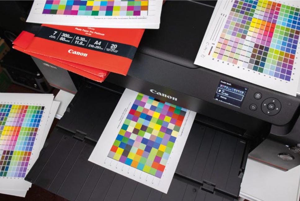 Materialien zur Farbprofilierung