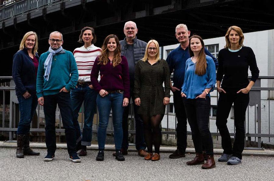 Gruppenfoto Freelens-Vorstand
