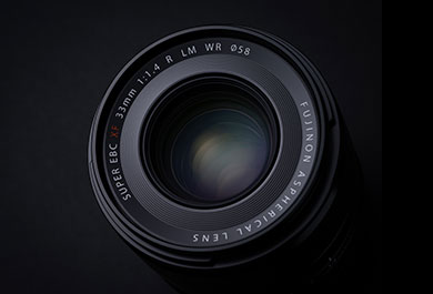 FUJINON XF33mmF1.4 R LM WR