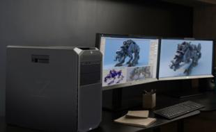 Foto HP Workstation im Einsatz