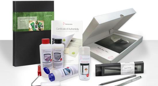 Hahnemühle Print Protect Authenticate ProductRange