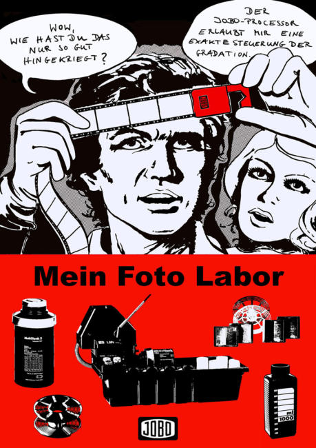 Jobo Poster im Retro-Stil