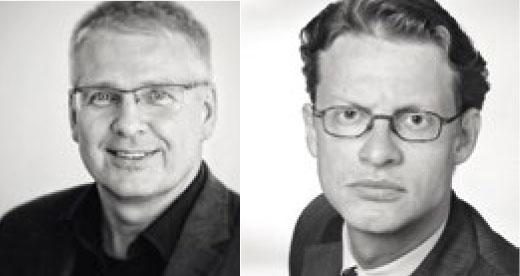 Porträts Lars-Broder Keil und Axel Sven Springer