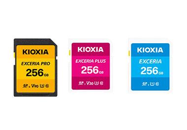 Kioxia Speicherkarten