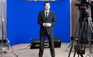 Foto des Lastolite-Hintergrundes im Studioeinsatz