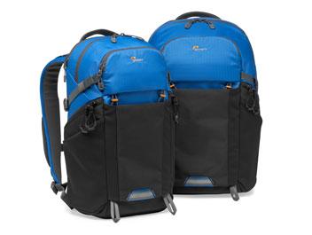 Neue Lowepro Rucksäcke in der Farbe Blau