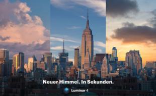 Skylum Software – Screenshot von Luminar 4