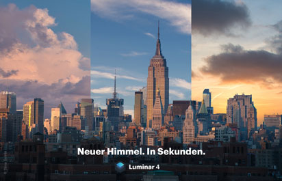 Skylum Software – Screenshot von Luminar 4