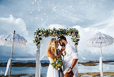 LuminarAI Hochzeitsvorlage