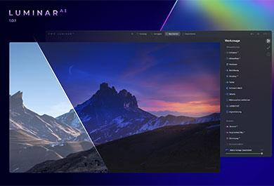 Screenshot LuminarAI Update