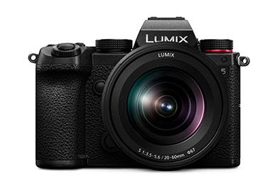 Lumix S5 von vorne