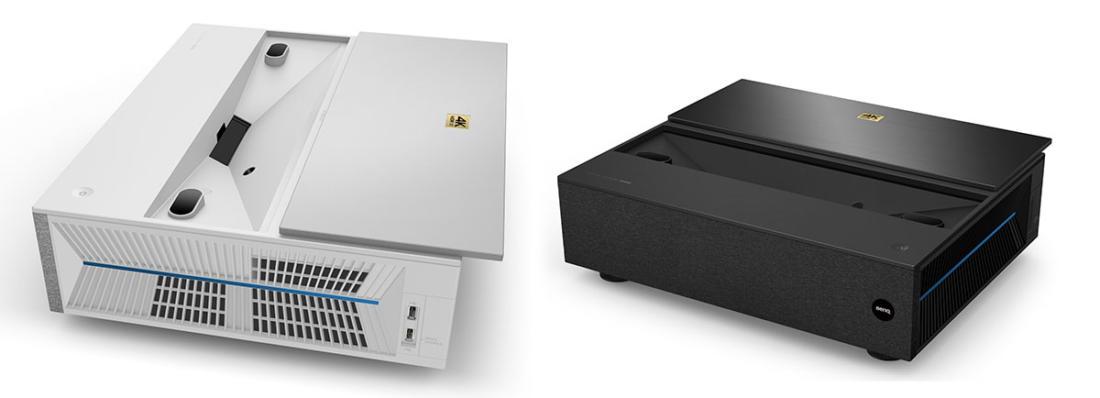 BenQ Ultrakurzdistanzprojektoren V7000i (l.) und V7050i
