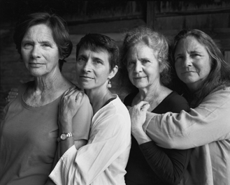 Foto Nicholas Nixon, The Brown Sisters, New Canaan