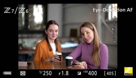 Beispielfoto Nikon Augen-AF