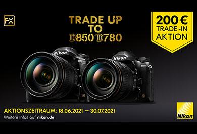 Trade-in-Aktion von Nikon