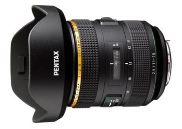 Foto HD Pentax-DA* 11-18 mm F2,8 ED DC AW HD