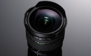 Foto des neuen Pentax Fisheye-Zoomobjektivs