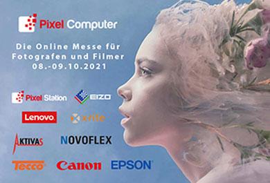 Logo Pixelcomputer Onlinemesse