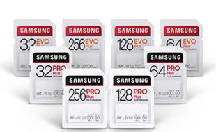 Samsung EVO Plus und Pro Plus SD-Karten