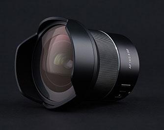 Samsyang Objektiv mit Brennweite von 14 mm