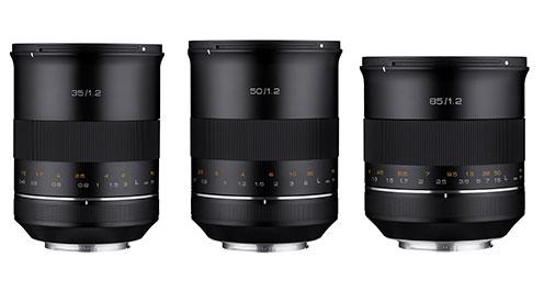XP-Objektive von Samyang für Canon