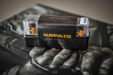 Silbersalz35 vier Filme in Packung