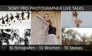 Sony Pro Photographer Livetalks