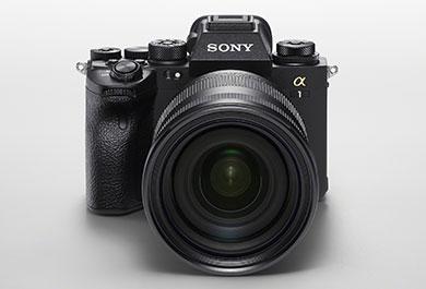 Die neue Sony Alpha 1 von vorne