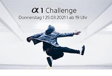 Sony Alpha 1 Challenge