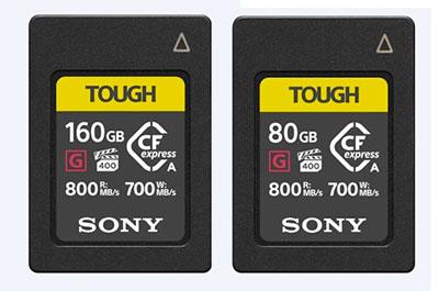 Sony CFexpress Typ A Speicherkarten