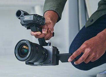 Sony FX3 im Einsatz