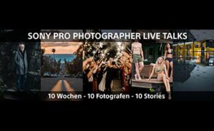 "Teaser ""Pro Photographer Live Talks"" von Sony"
