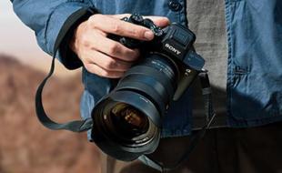 Sony Kamera im Einsatz