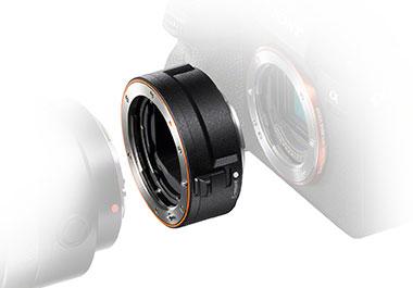 Sonys E-Mount-Adapter LA-EA5