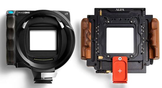 Zwei hochwertige technische Kameras – die Phase One XT und die Alpa PLUS.