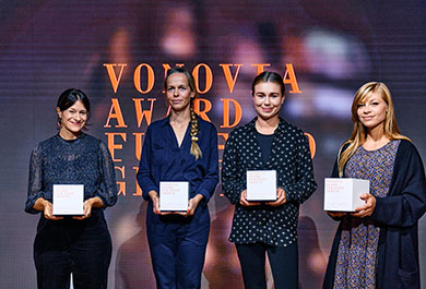 Vonovia Award Preisträgerinnen