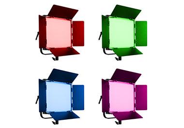 Vier Walimex Dauerlicht-Leuchten