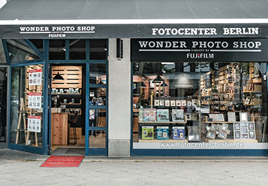 Der Wonder Photo Shop in Berlin
